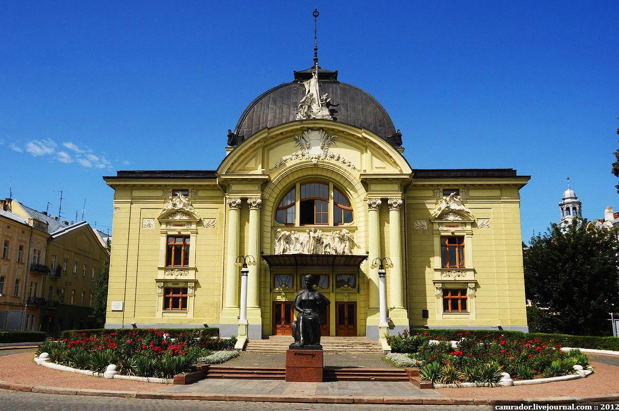 Картинки по запросу музично-драматичний театр ім. О. Кобилянської